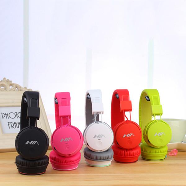 Multi Colors Newest Sport Headband Headphones Wireless Bluetooth Headset Headphone Support FM TF Free DHL Shipping