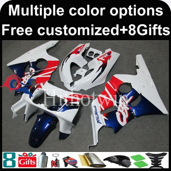 23colors+8Gifts Boda kit motorcycle cowl for HONDA NC29 1990 1994 NC29 90 94 ABS Plastic Fairing