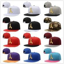 2017 Adjustable Bone masculino tha Alumni Snapback Caps Gold A Hip Hop gorras LA dad Hats for men Baseball cap casquette Trucker hat