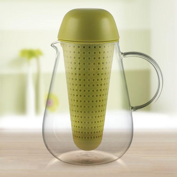 Mode Glas Teekanne mit Filter 720 ml Kreative Hitzebeständigkeit Hohe Borosilicate Glas Blume Kaffee Teekanne mit Infuser 25,4 unze