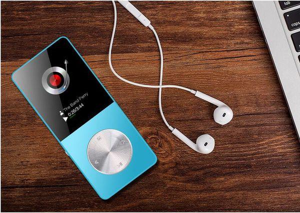 2017 NEW Metal MP3 MP4 Player 4GB/8GB/16GB Slim Sport MP4 Game Lcd Flash Hifi Mini Music Video Player FM Radio TF Recorder