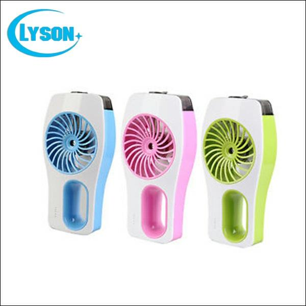 New fashion handheld portable rechargeable misting fan with Water Spray Handheld Small USB Spray Mist Humidifier Fan