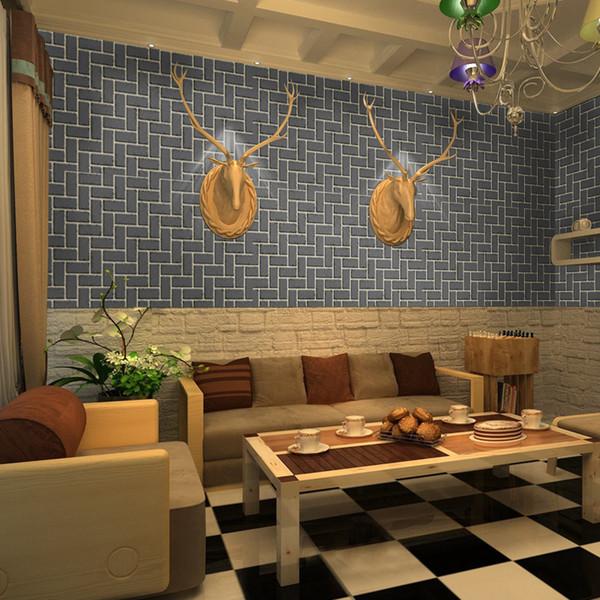 100*45cm 3D Wall Stickers Safty Home Decor Wallpaper DIY Wall Decor Brick Living Room Kids Bedroom Decorative Sticker