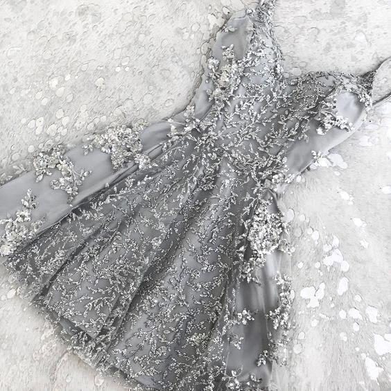 2018 Hot A Linha de Cristal Curto Coquetel Vestidos Novos Apliques de Renda Mini Spaghetti Straps Barato Homecoming Vestido de Desgaste do baile de Finalistas