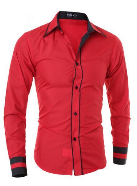 Red Shirt Männer