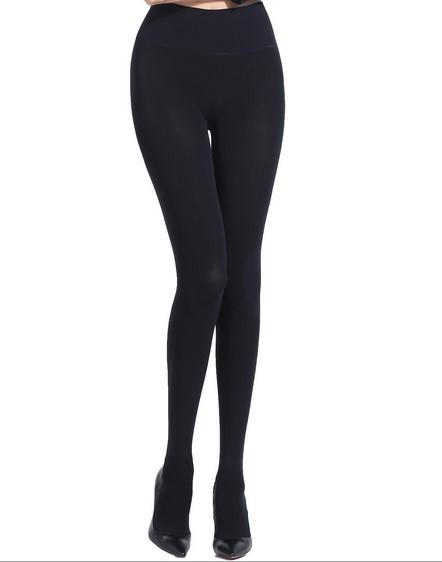 Premium Pantyhose Women Autumn and Winter 380D Velvet Fiber Seamless Thick High Waisted Drawing Abdomen Arbitrary Clipping Tights