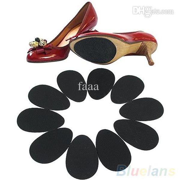 Wholesale-5 Paar Anti-Rutsch-High Heel Schuhe Sohle Grip Protector Rutschfeste Kissen Pads 2MFJ