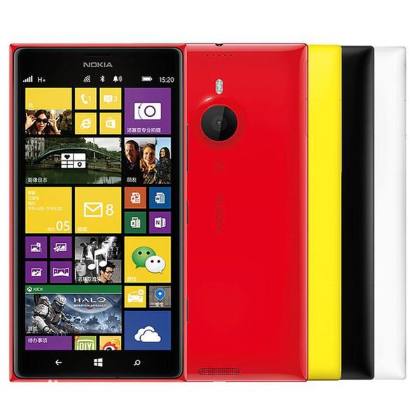 Refurbished Original Nokia Lumia 1520 Windows Phone 6.0 inch Quad Core 2GB RAM 32GB ROM 20MP Camera 4G LTE Smart Phone DHL 1pcs