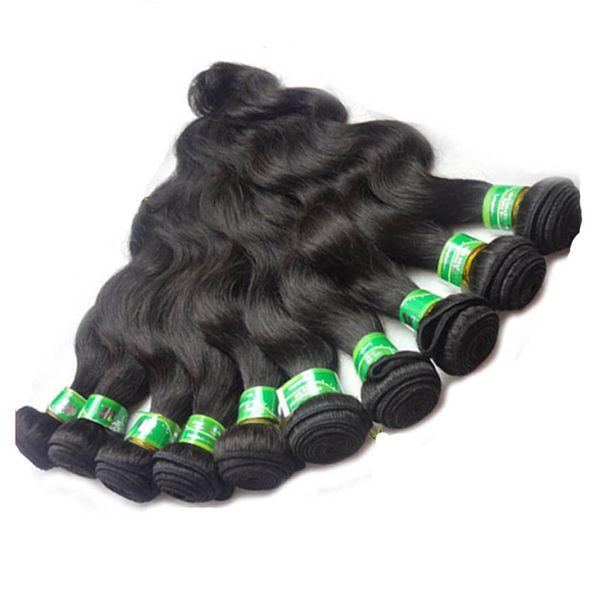 Sıcak Satış Ucuz Fiyat Brezilyalı Saç Vücut Dalga 8 Adet / grup stokta 12-30 Mix Uzunluğu 100% İnsan Saç Uzantıları Brezilyalı Vücut Dalga