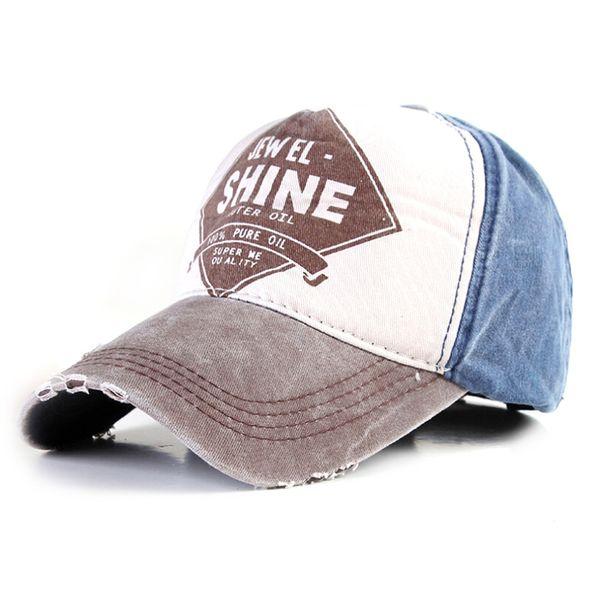 Wholesale- 2016 New Fashion SHINE letters Baseball Caps summer cap snapback Canvas Casual Outdoor sports visor hats cap for men women