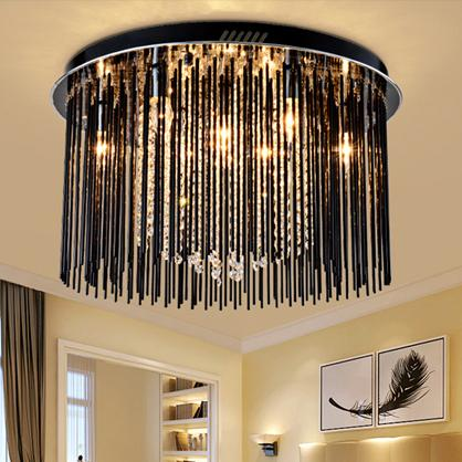 Dimmable crystal chandeliers high class K9 crystal led ceiling modern chandeliers lighting led ceiling lamps crystal lighting forlight
