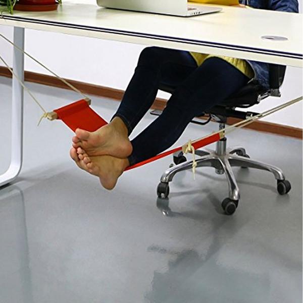 Portable Bureau Pied Hamac Mini Pieds Repose Pied Bureau Repose-Pied Table D'étude Suspendre Loisir Suspendus Chaise