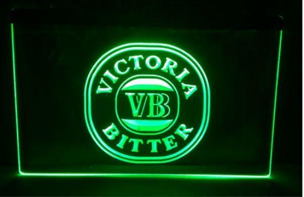 best selling Victoria Bitter VB Beer Bar Pub LED Neon Light Sign home decor crafts