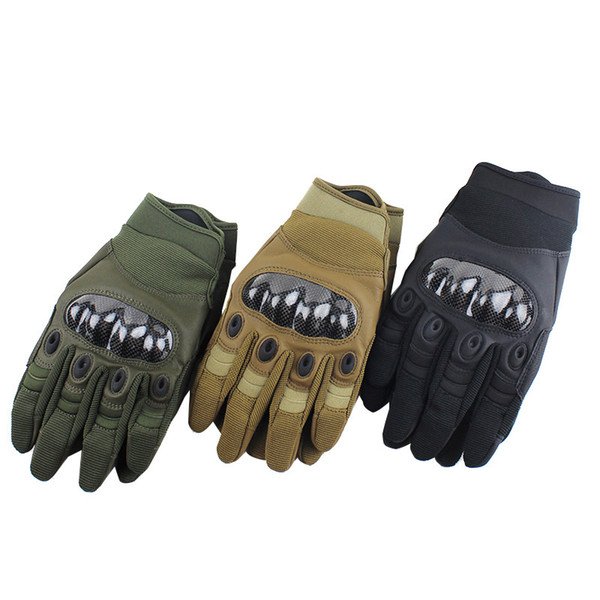 Outdoor Sports Motocycle Cycling Gloves Paintball Airsoft Shooting Hunting Tactical Full Finger Gloves NO08-062