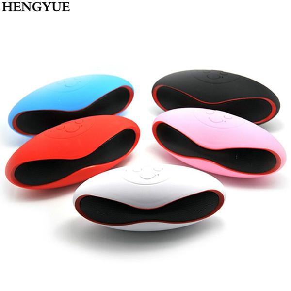 HENGYUE Hot Multifunción Mini fútbol portátil Altavoz Bluetooth inalámbrico Altavoz Mic Super FM Soporte para iPhone para Samsung