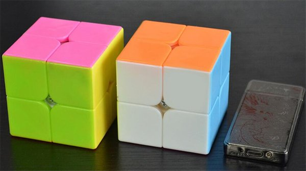 6pcs/lot 2x2x2 Profissional Magic Cube Competition Speed Puzzle Cubes Toys For Children Kids cubo magico Children gifts