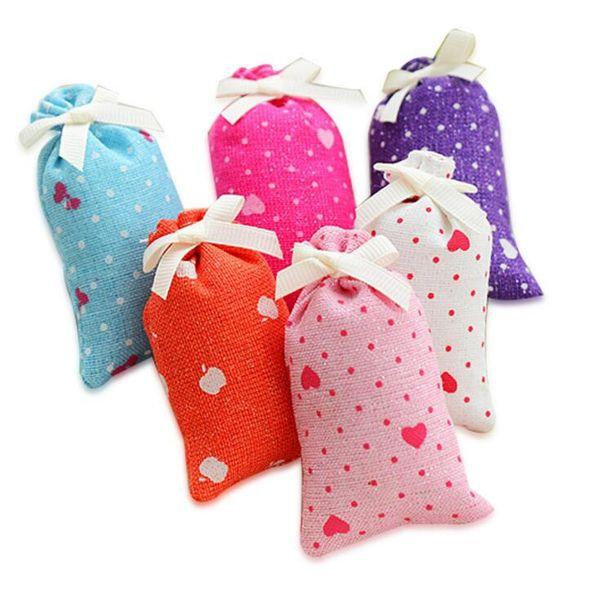 natural plant mothproof fragrance sachet bag car wardrobe incense rose lily jasmine lavender air freshener sachet scent bag
