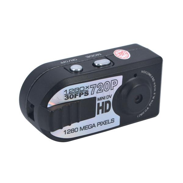 Wholesale-HD 720P Mini DV Q5 DVR Camcorder Night miniature Mini Camera infrared night vision camera shoot
