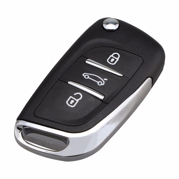 Guaranteed 100% 3Buttons Modified Key Fob Shell for Citroen C2 C3 C4 Coupe VTR Berlingo C6 C8 Remote Flip Folding Keyless Case Free Shipping