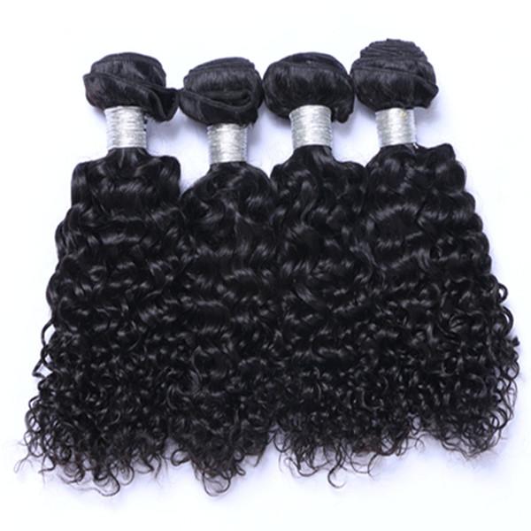 Can Be Dye Natual Color Brazillian Peruvian Indian Malaysian Virgin Remy Hair Natual Wave Brazilian Human Hair Weave Extensions Free Ship
