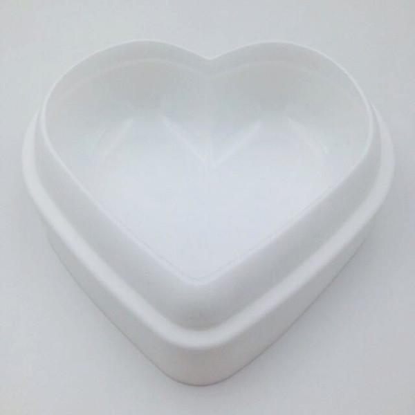 Liebe Herzform Mousse Brotform Silikon Backgebäck Kuchen Backformen DIY Nicht-Stick Kuchen Pan