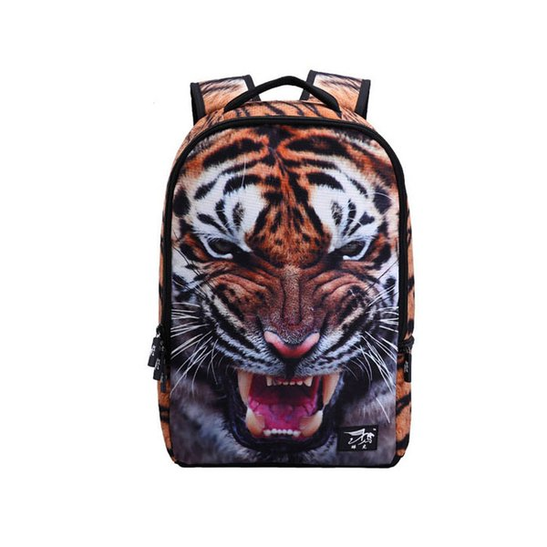 Boys Girls Animal Bag Tiger Head Backpack Kids School Bag For Mens Backpack Travel backpack 1pcs drop ship