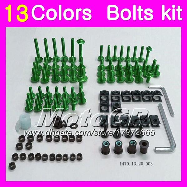 Kit completo de tornillos de carenado Para HONDA CBR954RR 02 03 CBR900RR CBR 954 RR 900RR CBR954 RR 2002 2003 Tuercas del cuerpo Tornillos Tuerca Juego de tornillos 13Colores