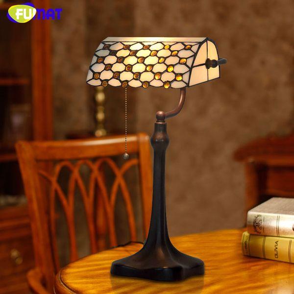 Tiffany Weinlese Bank Lampen Qualitts Buntglas Korne Tabellen