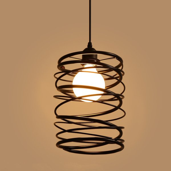 Großhandel Led Pendelleuchten Vintage Style Restaurant Hängende Lampen  Droplight Schlafzimmer Lampe Kaffeehaus Licht Kreativen Design Kommen Mit  LED ...