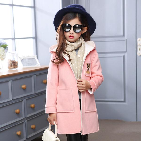 Cheap Designer Children'S Girls Clothes Autumn/Winter Girls Trench ...