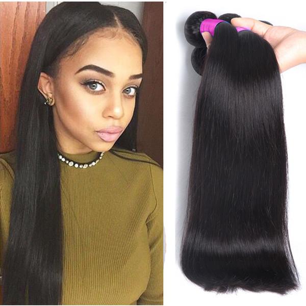 Malaysian Straight Remy Hair 3 Bundles Cheaper Silk Straight Hair
