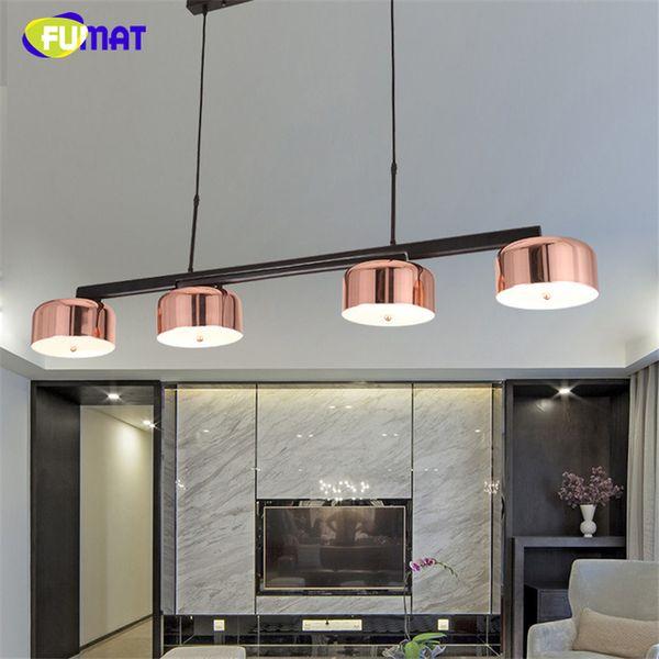 fumat moderno diseo de marca lmpara colgante luminarias de interiores led lamparas colgantes oro rosa sala
