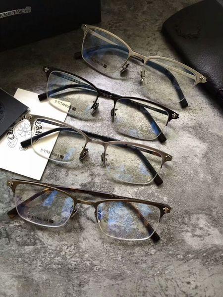 Occhiali da sole FERRAN montatura trasparente lente Montatura in titanio puro montatura miopia Occhiali retro oculos de grau montatura da vista uomo e donna miopia