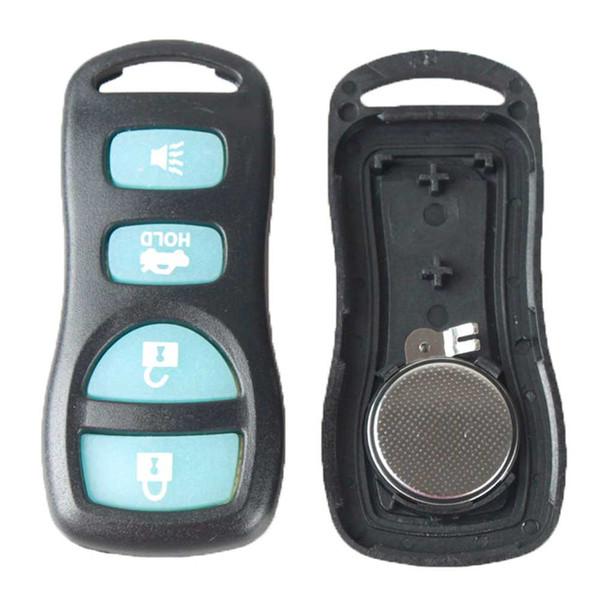 Guaranteed 100% 4Buttons Keyless Entry Remote Key Car Fob Clicker Transmitter Black Glow For KBRASTU15 Free Shipping
