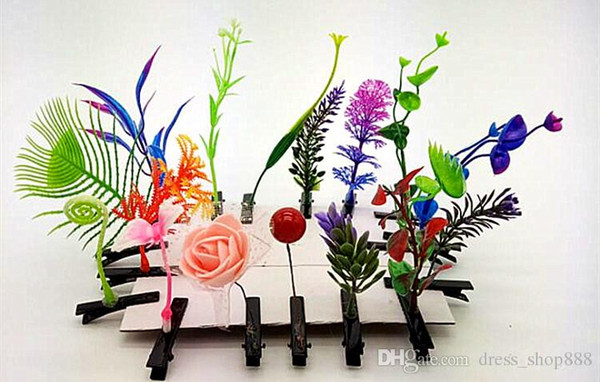 An upgraded version of the artifact sell Meng cartoon hairpin luminous grass sprouts stall selling toys wholesale children's toy factory