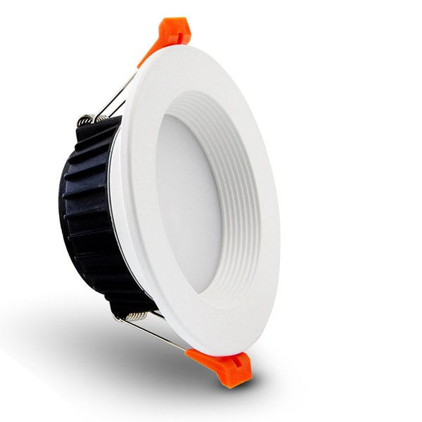 [DBF] AC85-265V LED Down lights 7W 10W 12W LED Downlight теплый белый / холодный белый светодиодный потолочный светильник Главная крытый лампы освещения