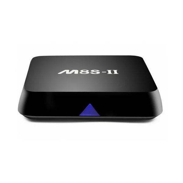 M8S-II TV Box 1000M Ethernet Android 6.0 Amlogic S905X 2G RAM 8G/16G ROM Quad-core 2.4G+5G Dual WiFi Smart Set-top Box