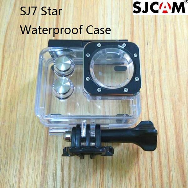 Wholesale- Original SJCAM Accessories SJ7 Star Waterproof Case Underwater 30M Dive Housing Case Camcorder for SJCAM SJ7 Action Camera