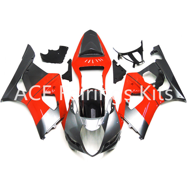 3 free gifts New Suzuki GSXR1000 K3 03 04 GSXR 1000 K3 2003 2004 Injection ABS Plastic Motorcycle Fairing Cool Red v80