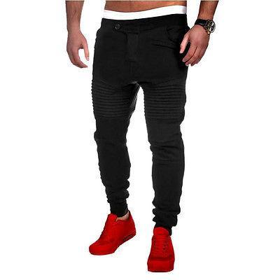 Großhandels- Vogue-Mann-Jogger-Tanz Sportwear Baggy Harem Pants Slacks Hosen Jogginghose AU