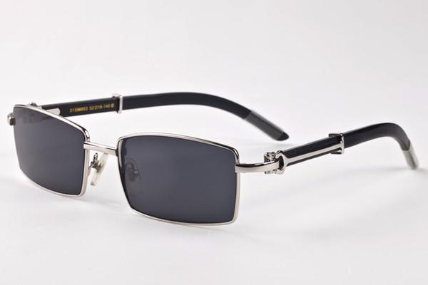 2017 sports wooden designer sunglasses for men polarized buffalo horn glasses full frame red green gray brown clear lens with original case