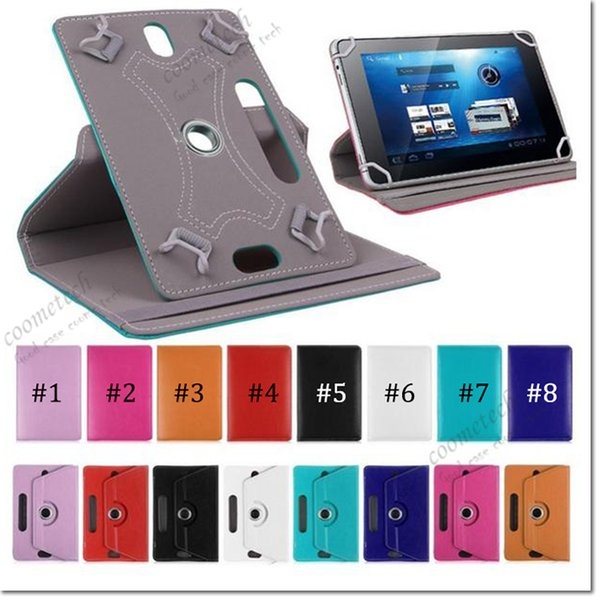 7 8 9 10 inch univer al tablet ca e 360 degree rotate pu leather ca e ipad cover tand ca e for am ung galaxy tab 3 4 ipad air tablet pc