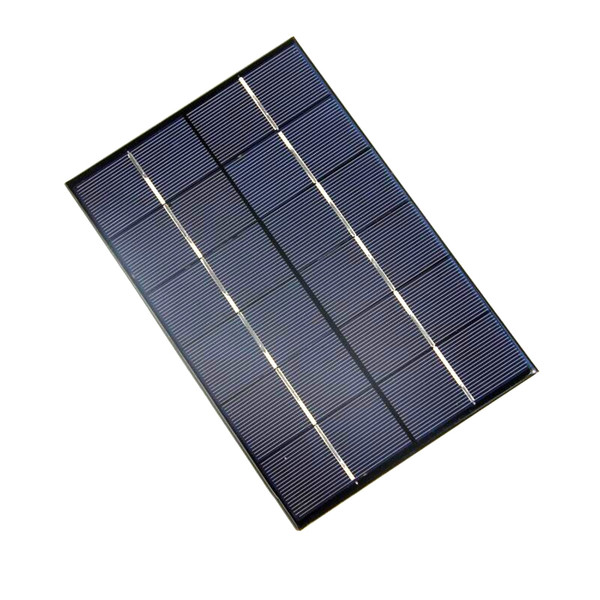 Wholesale! 10PCS/Lot 4.2W 6V Solar Cell Polycrystalline Solar Module DIY Solar Panel Charger For LED Light 200*130*3MM Free Shipping