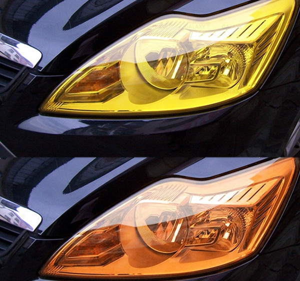10mx0.3m=1000cmx30cm 12 Different Colors Strong Self Adhesive PVC Car Headlight Film Durable Auto Car Sticker HeadLight Taillight Tint Vinyl