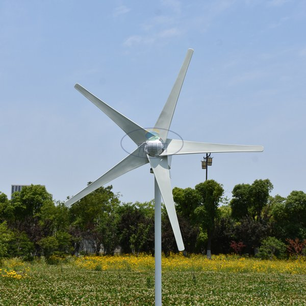 Генератор ветротурбины AC 24V/50HZ 400W горизонтальный