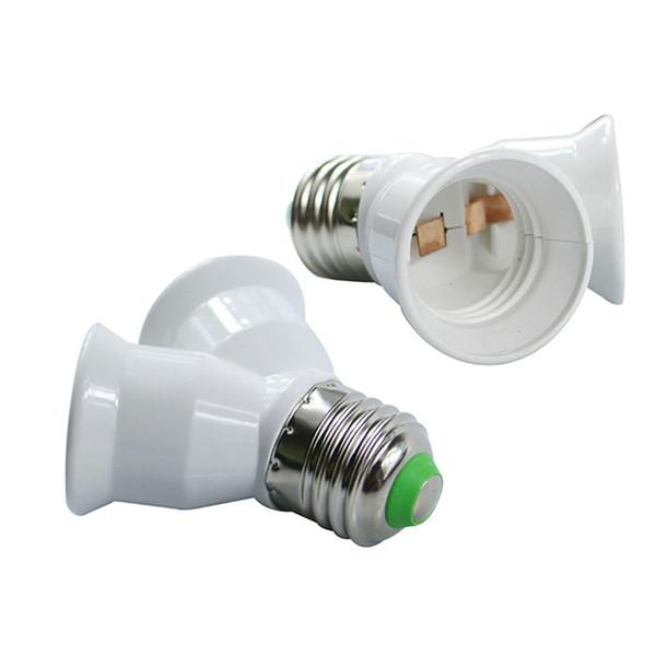 1Pc E27 Light Lamp Bulb Adapter Holder Converter Socket Base Splitter 3 in 1 FD
