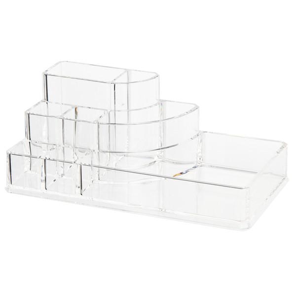 Wholesale- Organizer Storage Box Acrylic Cosmetic Display box for Makeup Storage transparent