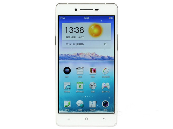 """Original OPPO R1C Smart Mobile Phone Snapdragon 615 Android Octa Core 2GB RAM 16GB ROM 5"""" 13.0MP 4G LTE Dual SIM Phone Silicone Case as gift"""