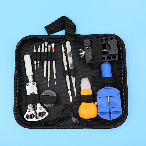top popular Factory direct watch repair kit is suitable for quartz watch mechanical watches and different sizes of watches to take high quality steel 2021