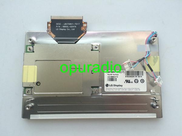Free shipping 100% new 7 inch LG DISPLAY LB070WV1-TD17 LB070WV1-TD01 LCD module screen for Mercedes W204 GLK car DVD audio system
